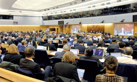 «En tant que membre de la famille de l'ONU, l'Organisation maritime internationale est encouragée par l'esprit de l'Accord de Paris et pleinement engagée à limiter davantage les émissions de gaz à effet de serre», a déclaré le secrétaire général de l'OMI, Kitack Lim, lors de la séance d'ouverture. Ph. DR