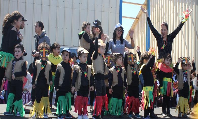 Deuxième carnaval africain à Mohammedia