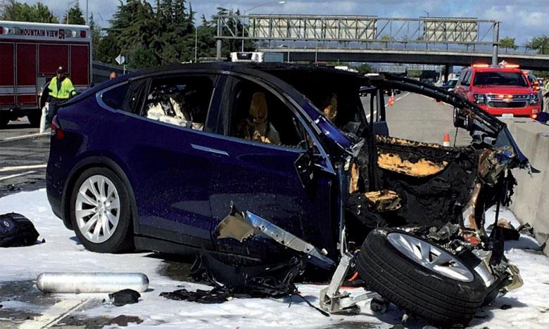 Les images du véhicule amputé de toute sa partie avant ont frappé les esprits.
