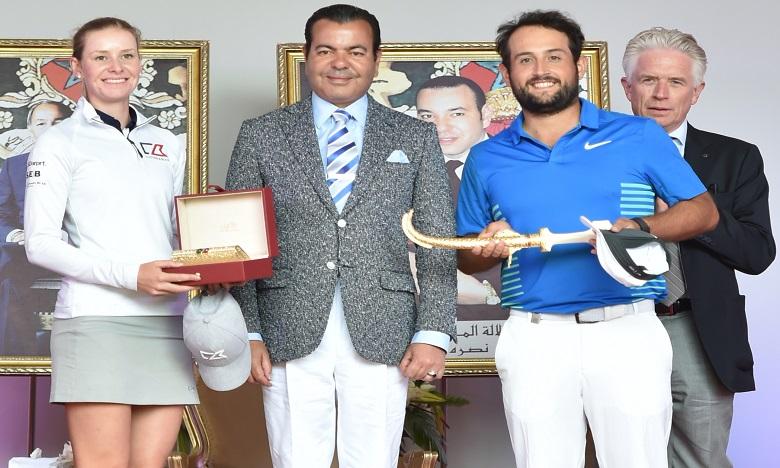 S.A.R. le Prince Moulay Rachid préside la cérémonie de remise des Prix aux vainqueurs