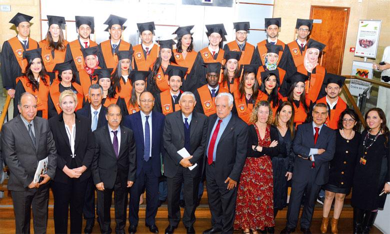 Les lauréats de la 9e promotion du Master «Banque & Marchés financiers» à l'honneur