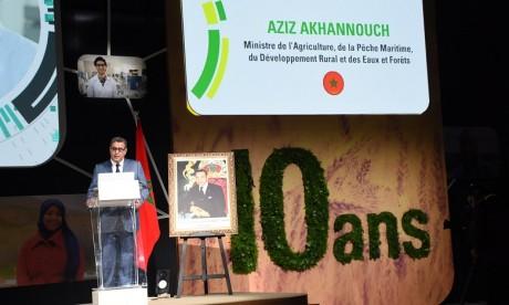 Aziz Akhannouch : «La production céréalière au titre de la campagne agricole 2017-2018 devrait atteindre le niveau exceptionnel de 98,2 millions de quintaux»