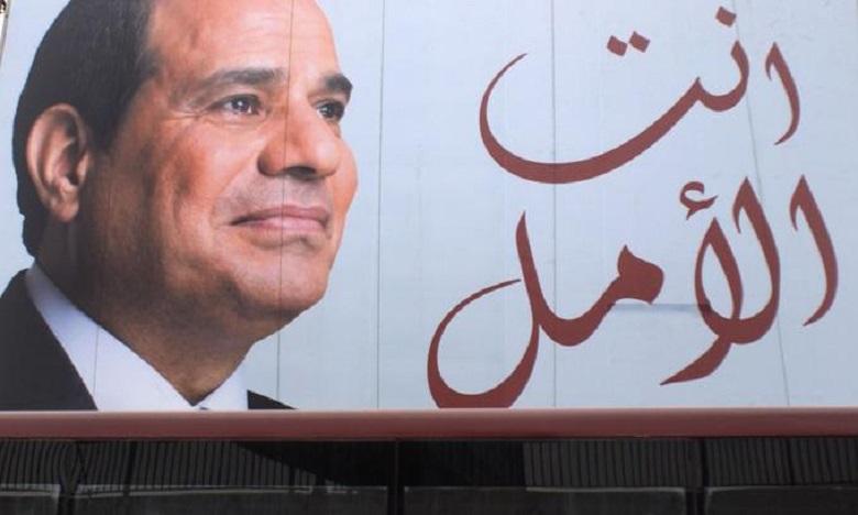 Al Sissi remporte un second mandat présidentiel avec 97,08% des voix