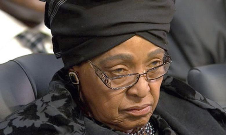 Winnie Mandela.