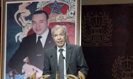 La lecture du message royal  a été donnée par M. Abdellatif Menouni, conseiller de Sa Majesté le Roi. Ph. DR
