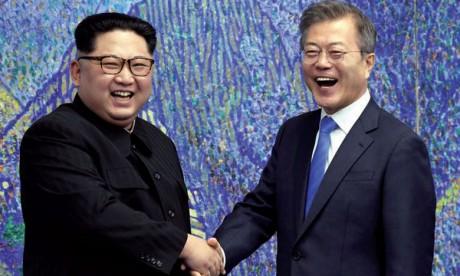 La dénucléarisation et la paix au menu des discussions Moon/Kim
