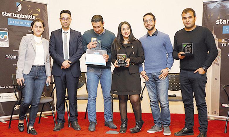 Les gagnants vont rejoindre les meilleurs projets des Startup Battle de la région pour avoir une chance  de gagner 20.000 dollars, une bourse d'accélération à la Silicon Valley, ainsi que d'autres prix.