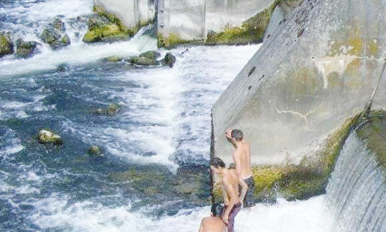 Sensibilisation aux dangers  de la baignade dans les barrages