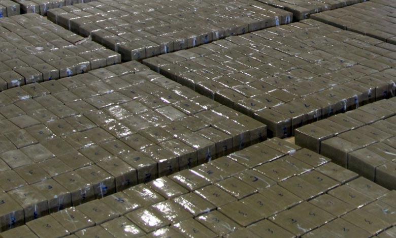 Saisie de 653 kg de hachich au sud de Dakhla