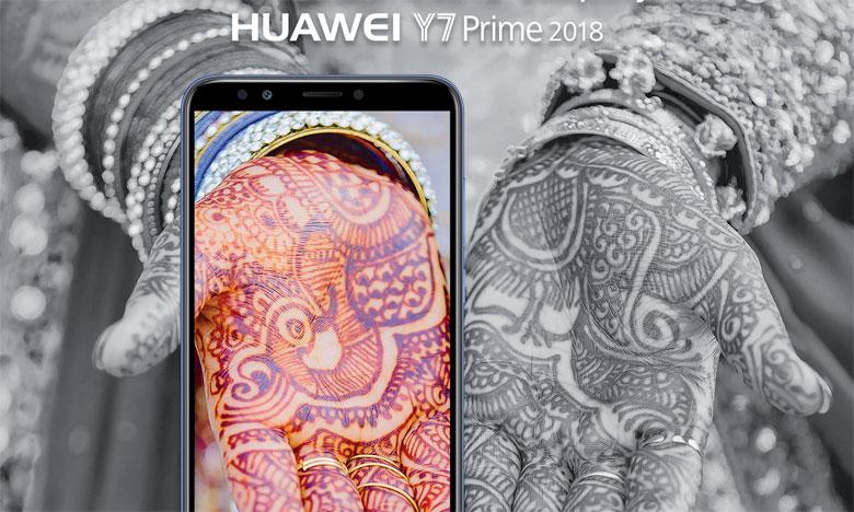 Disponible en 3 coloris (noir, bleu et gold), le Huawei Y7 Prime 2018 sera commercialisé au prix de 1.899DH.