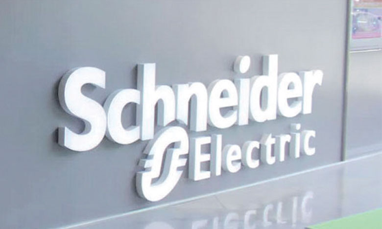 Schneider Electric vise une croissance organique du chiffre d'affaires de 3 à 5% en 2018.
