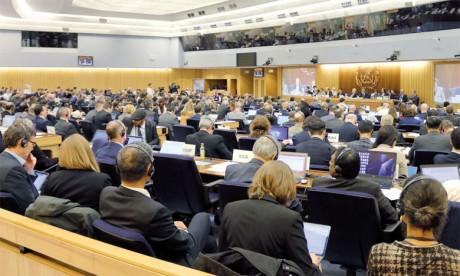 La séance d'ouverture de la 72e session du Comité de la protection du milieu marin.                                                                                                Ph. DR