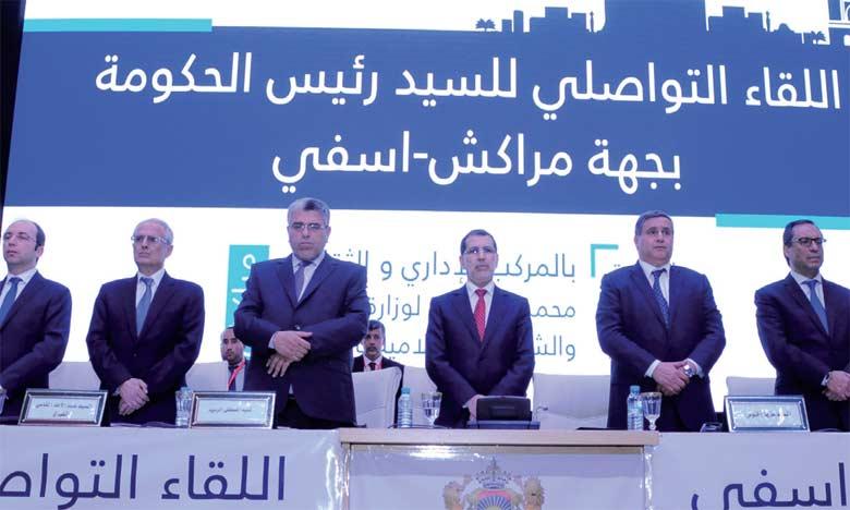 Le ministère de l'Aménagement du territoire national  et de l'urbanisme a contribué aux projets programmés dans la région à hauteur de 2,8 milliards de DH