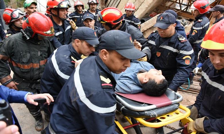 La chute d'une grue fait un mort et plusieurs blessés