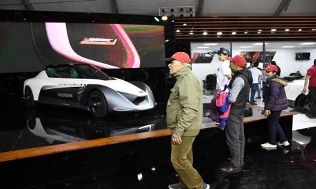 Cette «curiosité» hautement technologique de l'Auto Expo