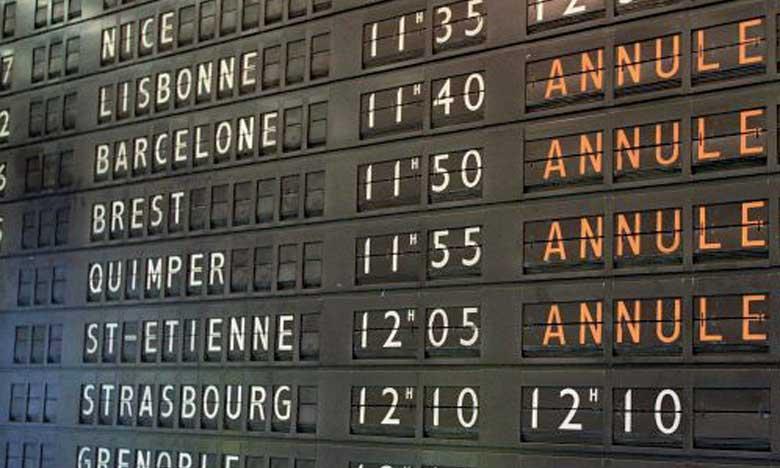 Le ciel européen perturbé par des grèves en France et en Allemagne