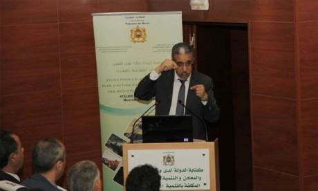 Le ministère de l'Énergie et des mines lance une étude pour l'élaboration d'un plan d'action