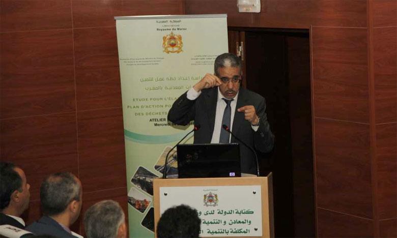 Aziz Rabbah, ministre de l'Énergie, des mines et du développement durable, le 4 avril2018 à Rabat.                                                                                                                                                                                                                      Ph. DR