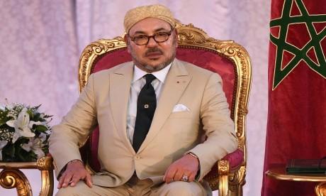 S.M. le Roi prend part au déjeuner officiel offert par le Président congolais