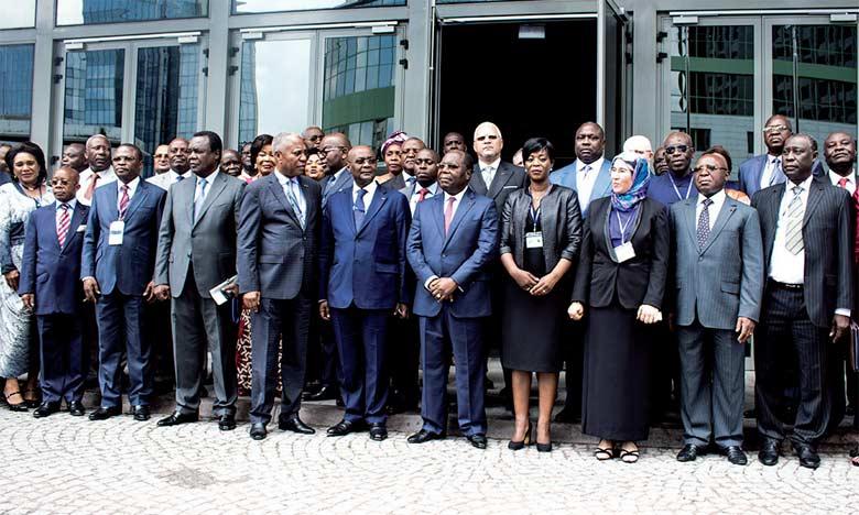 Réunion ministérielle préparatoire du 1er Sommet des Chefs d'État et de gouvernement de la Commission climat et du Fonds bleu du Bassin du Congo avec la participation du Maroc