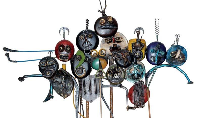 Des artistes béninois exposent leurs œuvres à Rabat
