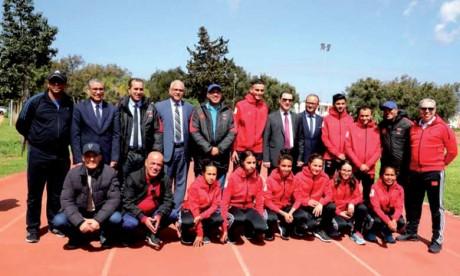 L'équipe nationale universitaire  aux mondiaux de Suisse