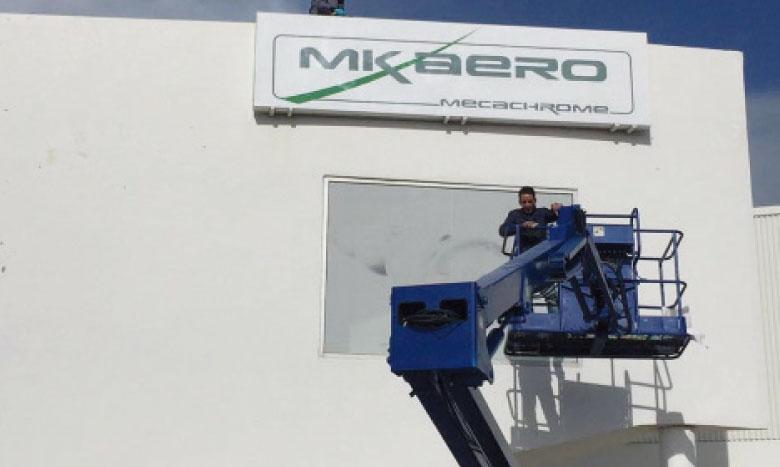 Avec cette extension, la superficie de l'usine MK Aero de Tanger monte  à 8.000m².