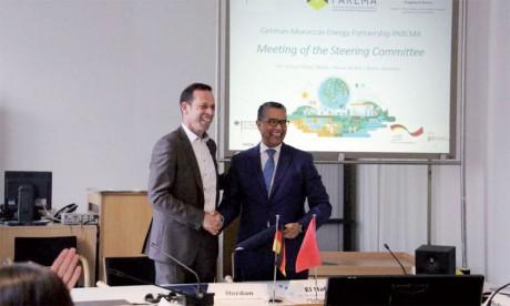 Avec l'appui de la GIZ, le Secrétariat du partenariat énergétique joue le rôle d'interlocuteur  pour  les partenaires marocains et allemands. Ph. DR
