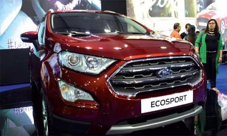 Le nouveau Ford EcoSport s'habille d'un nouveau design audacieux et dynamique propre à la gamme SUV de Ford.  Ph. Saouri