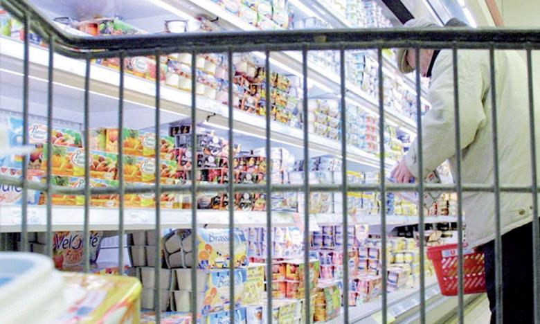 L'inflation est principalement tirée par la hausse des produits alimentaires.