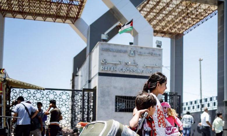 Le point de passage de Rafah est la seule sortie pour les habitants de Gaza du côté égyptien, mais l'Égypte l'a largement maintenu fermé  ces dernières années.                                                                                                                                                                                                                                            Ph. DR