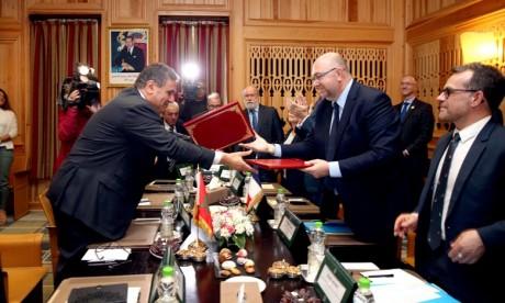 Paris et Rabat ont tout à gagner à renforcer encore plus leur coopération dans ces domaines car ils doivent préparer l'avenir, former la jeunesse de demain. Ph : MAP