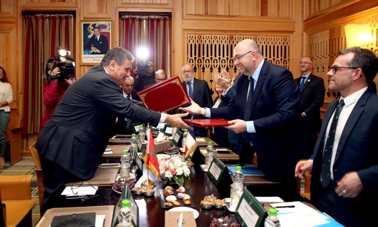 Rabat et Paris pour une piste des échanges