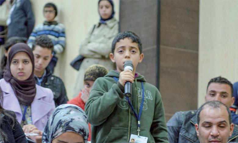 Ces sessions seront un espace de dialogue et d'interaction directe entre les enfants parlementaires  et les responsables pour discuter des priorités des enfants marocains.