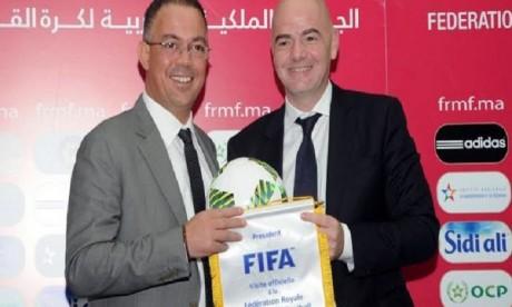La FIFA répond à Lekjaa