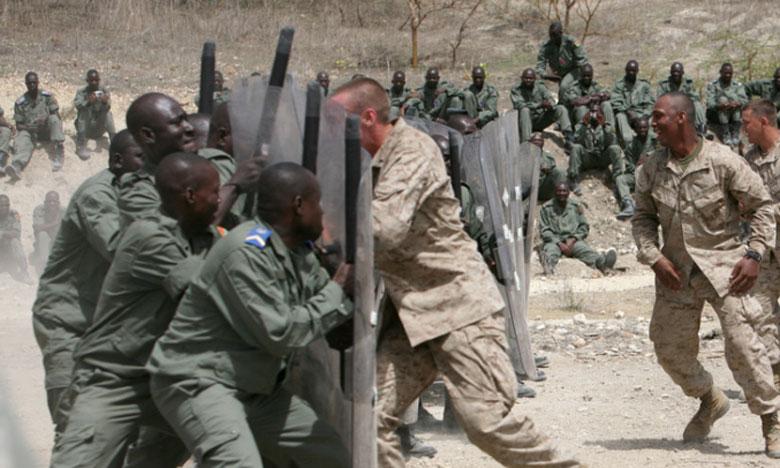 Manœuvres militaires internationales contre le terrorisme