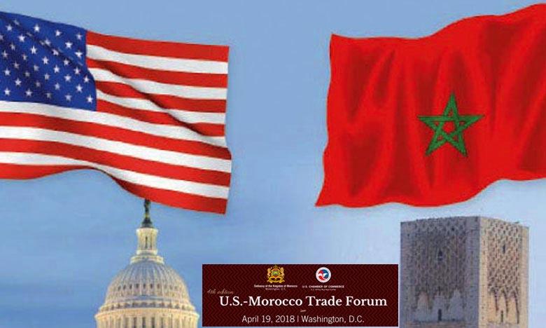 Le 4è Forum commercial USA-Maroc, le 19 avril à Washington