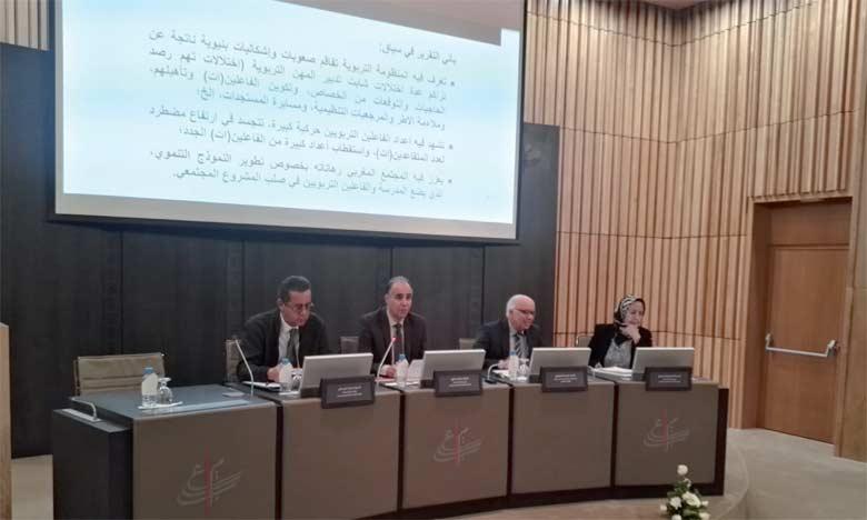 Un rapport souligne l'importance  de la valorisation des métiers de l'éducation  dans la promotion de l'école marocaine