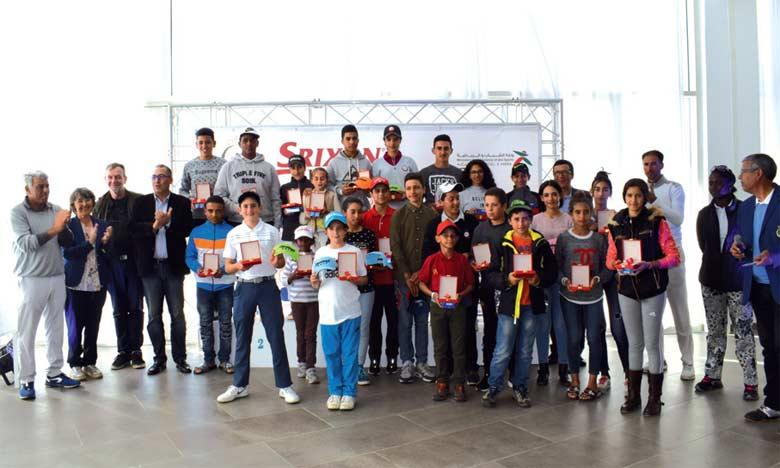 Le Junior Srixon Tour boucle  sa 3e étape