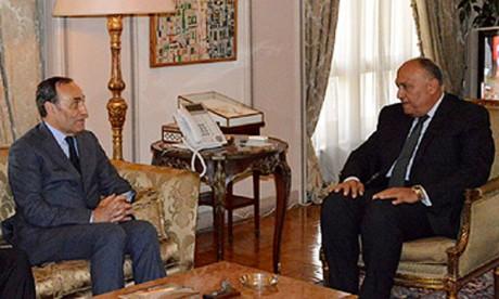 Le Président égyptien salue la singularité et la solidité  des relations entre Le Caire  et Rabat