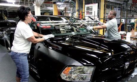 Les constructeurs étrangers ont 17 usines de montage aux États-Unis, dont 12 sont propriété  d'entreprises asiatiques.                                                                                                                                                   Ph. AFP