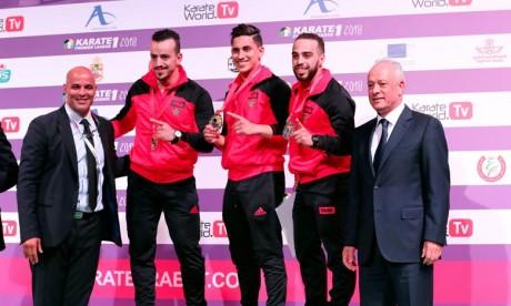 De l'or et de l'argent pour les athlètes marocains