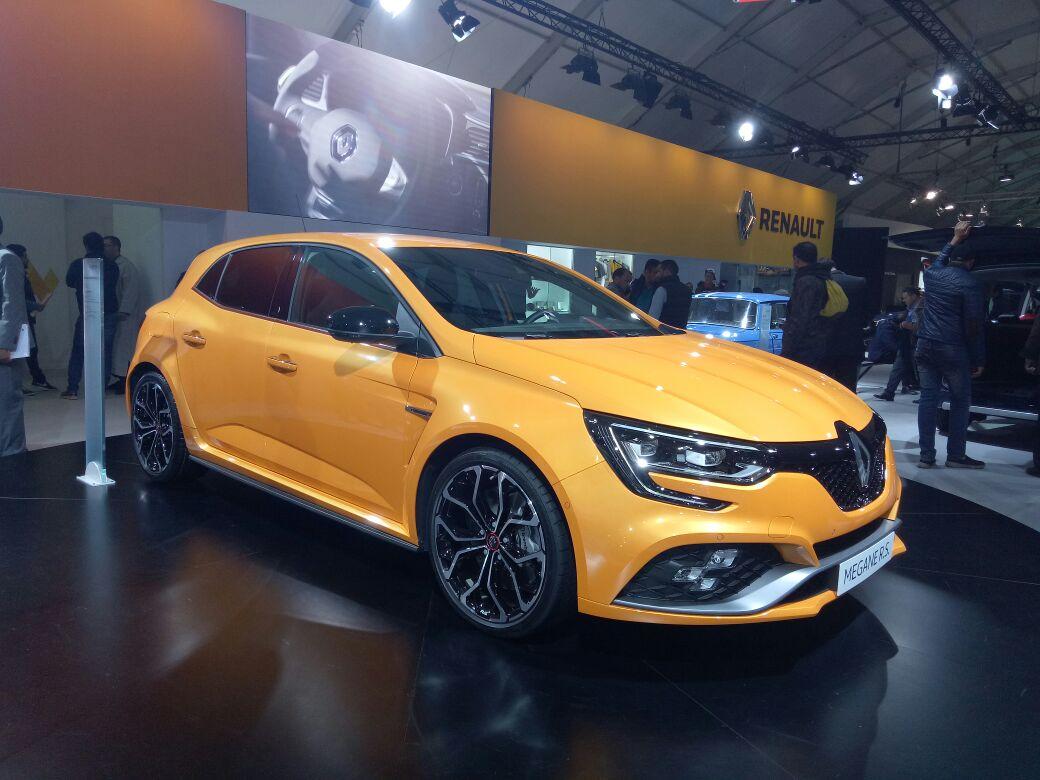 La Mégane R.S brille de mille feux au stand Renault