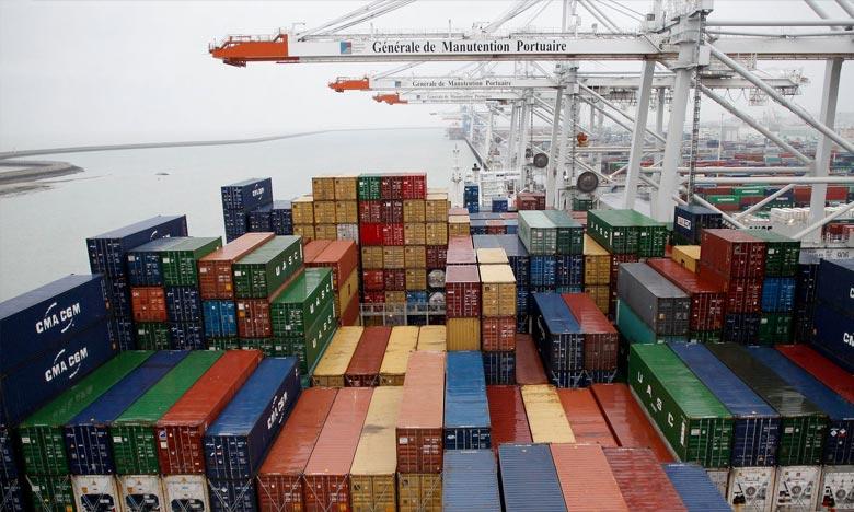 Le taux de couverture des importations par les exportations se situe à 58,4% à fin mars 2018 contre 59,3% un an auparavant. Ph : DR
