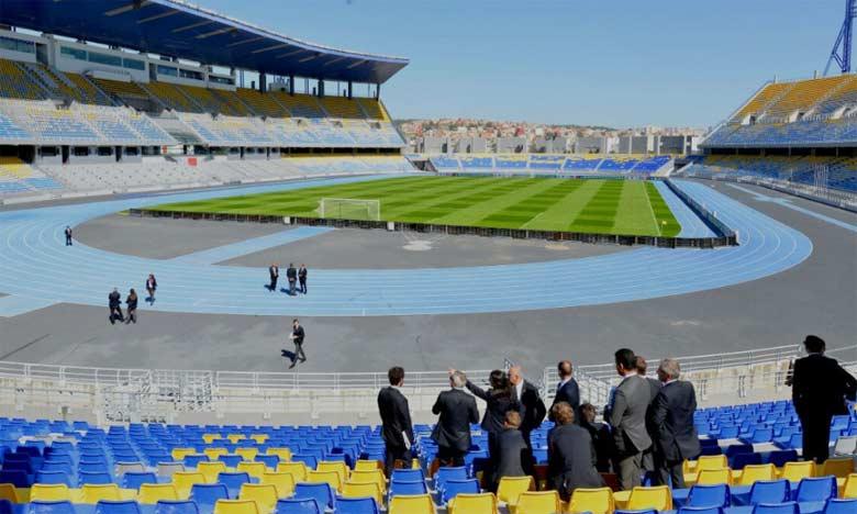 Jeudi la commission a visité le Grand Stade de Tanger puis s'est déplacée à Casablanca.
