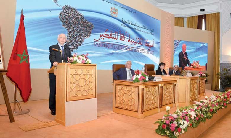 Ouverture officielle de la 45e session de l'Académie du Royaume du Maroc sur le thème «L'Amérique latine comme horizon de pensée»