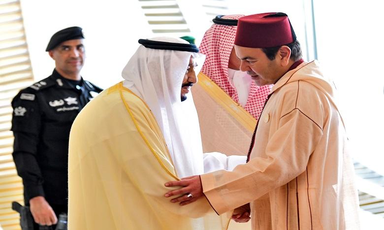 S.A.R. le Prince Moulay Rachid représente S.M. le Roi à Dhahran