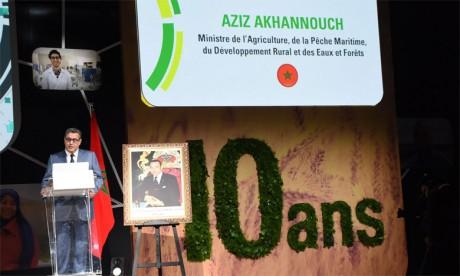 Vue de la cérémonie d'ouverture des travaux des Assises de l'agriculture à MeknèsPh. Saouri