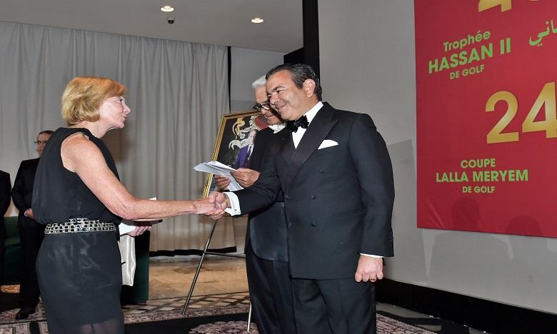 S.A.R. le Prince Moulay Rachid préside un dîner offert par S.M. le Roi en l'honneur des invités de la 45ème édition du Trophée Hassan II de golf et de la 24ème édition de la Coupe Lalla Meryem de golf