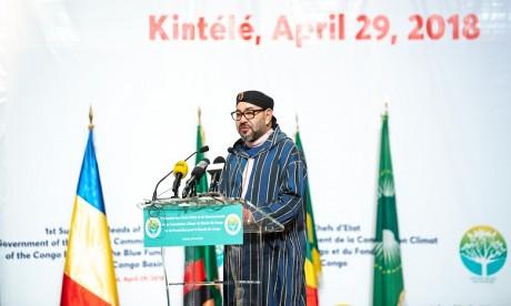 S.M. le Roi appelle à la mobilisation collective de l'Afrique pour faire face aux «effets dévastateurs» du réchauffement climatique